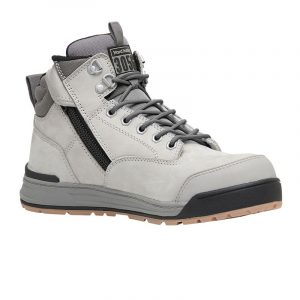 Hard Yakka Y60202 3056 Zip Side Safety Boot Grey