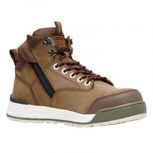 Hard Yakka Y60205 3056 Zip Side Safety Boot Oak