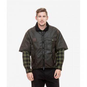 Swanndri SD2835 3/4 Sleeve Oilskin Jacket