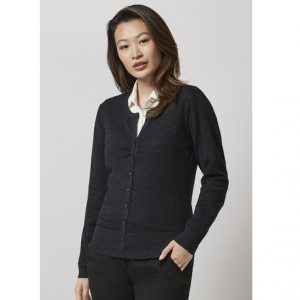 Biz Collection LC131LL LADIES ORIGIN MERINO CARDIGAN