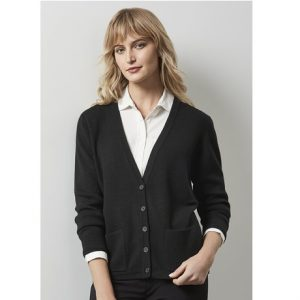 Biz Collection  LC8008 LADIES WOOLMIX CARDIGAN