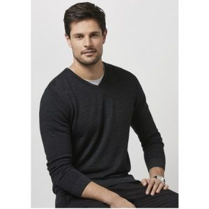 Biz Collection WP131ML MENS ORIGIN MERINO PULLOVER