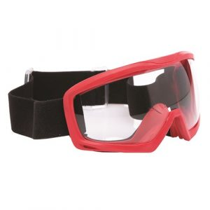 PRO CHOICE 6FR0 INFERNO FR GOGGLE / RED FRAME CLEAR LENS
