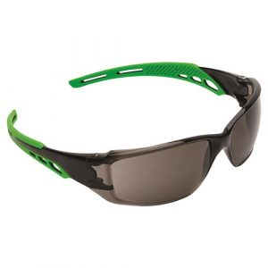 PRO CHOICE 9182 CIRRUS GREEN ARMS SAFETY GLASSES SMOKE A/F LENS 12 PAIRS