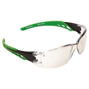 PRO CHOICE 9188 CIRRUS GREEN ARMS SAFETY GLASSES INDOOR/OUTDOOR 12 PAIRS
