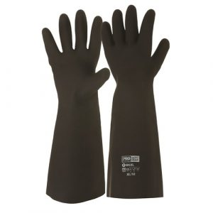 PRO CHOICE BK BLACK KNIGHT® 46CM RUBBER GLOVES