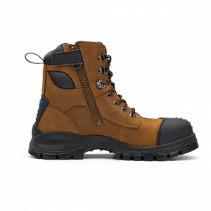 Blundstone 983 Zip Up Safety Boot Crazy Horse