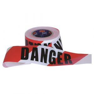 PRO CHOICE DT10075 BARRICADE TAPE - 100M X 75MM DANGER PRINT