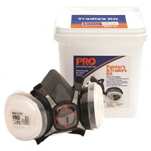 PRO CHOICE HMA1P2-B ASSEMBLED HALF MASK WITH A1P2 CARTRIDGES + BUCKET