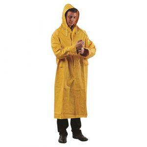 PRO CHOICE RC YELLOW FULL LENGTH PVC RAIN COAT