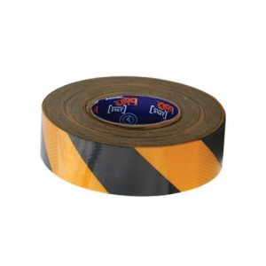 PRO CHOICE YB5050-R SELF ADHESIVE REFLECTIVE HAZARD TAPE  50M X 50MM