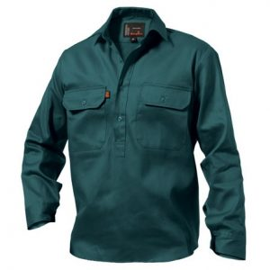 KingGee K04020 Closed Front Drill Shirt L/S