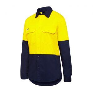 KingGee K04035 Stretch Spliced Shirt
