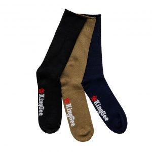 KingGee K09271 Men's 3 Pack Bamboo Work Socks
