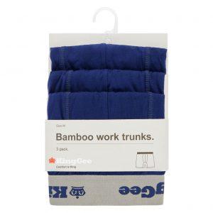 KingGee K19005 Men's Bamboo Trunks 3 Pack