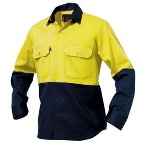 KingGee K54015 Spliced Drill Shirt