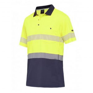 KingGee K54215 Workcool Hyperfreeze Polo S/S with Segmented Tape