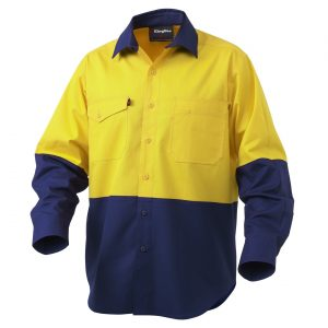KingGee K54870 Workcool 2 Spliced Shirt L/S