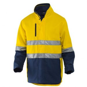 KingGee K55400 Reflective 3 in 1 Cotton Jacket
