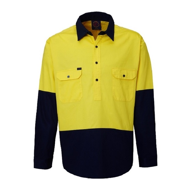 RM105CF Yellow Navy Front
