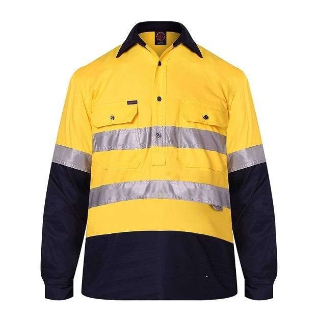 RM105CFR Yellow Navy Front