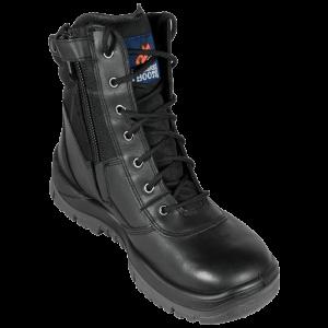Mongrel Boots 951020 Black High Leg ZipSider Boot