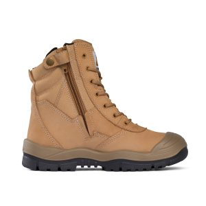 Mongrel Boots 451050 Safety Wheat High Leg ZipSider Boot