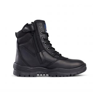 Mongrel Boots 951020 Black High Leg ZipSider Boot Non Safety