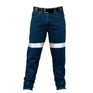 Ritemate RM106DJR Mens's Cotton Denim Jean 3M Tape