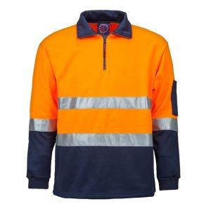 Ritemate RM6012R Half Zip Fleece Pullover With Tape