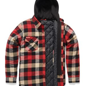 HARD YAKKA  Y06690 Quilted Flannel Jacket