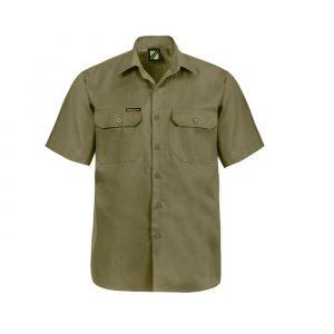 Workcraft WS3021 S/S Cotton Drill Shirt