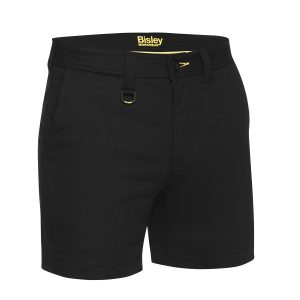 BISLEY BSH1008 MENS STRETCH COTTON SHORT SHORT