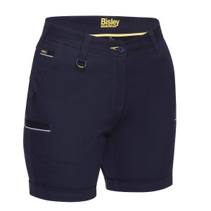 BISLEY BSHL1015 WOMENS STRETCH COTTON SHORT