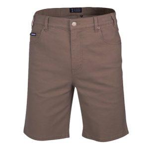 Pilbara RMPC033 Men's Cotton Stretch Jean Short