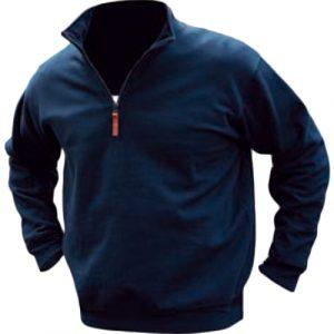 Pilbara RMPC045 Mens Classic Zipper C/F Fleece Pullover