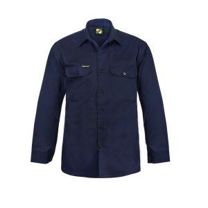 Workcraft WS3020 Long Sleeve Cotton Drill Shirt
