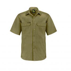 Workcraft WS4012 Lightweight Short Sleeve Vented Cotton Drill Shirt