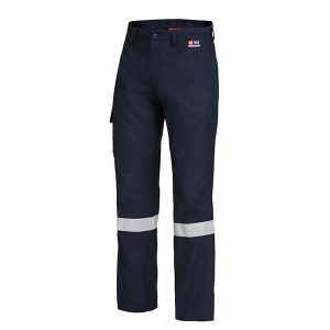 HARD YAKKA Y02525 SHIELDTEC FR FLAT FRONT CARGO PANT WITH TAPE