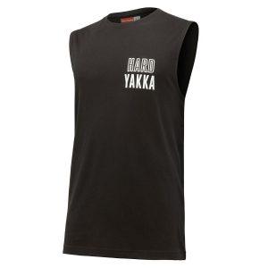 HARD YAKKA Y11308 MUSCLE SLEEVELESS TEE