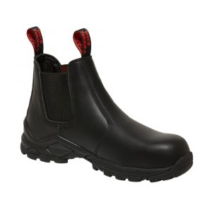 HARD YAKKA Y60116 3056 GUSSET SAFETY BOOT BLACK
