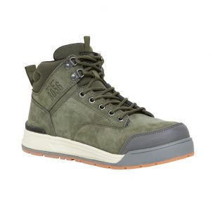 Hard Yakka Y60203 3056 LACE ZIP BOOT SAFETY Olive