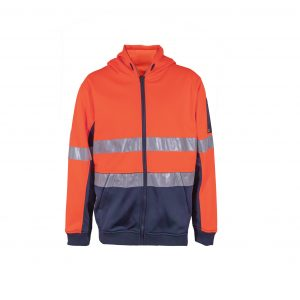Workcraft WT8011 Peak High-Vis Hoodie with CSR Tape