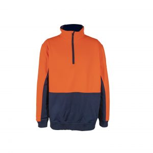 Workcraft WT8012 Chest High-Vis 1/2 Zip Pullover