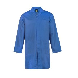 Workcraft WJ057 Dustcoat with Patch Pockets-Long Sleeve