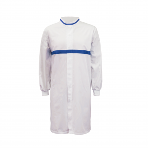 Workcraft WJ3197 Food Industry Long Length Dustcoat with Mandarin Collar- L/S
