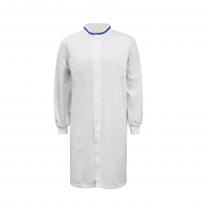 Workcraft WJ3199 Food Industry Long Length Dustcoat with Mandarin Collar- L/S