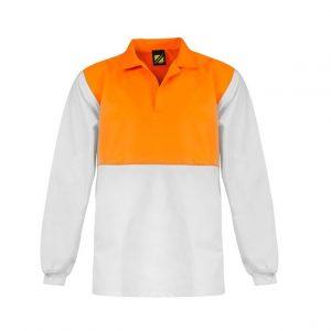 Workcraft WS3002 Food Industry Hi Vis Two Tone Jac Shirt- L/S