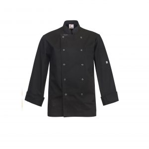 Chefscraft CJ039 Executive Chefs Jacket with Press Studs- L/S