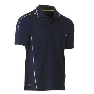 BISLEY BK1425 COOL MESH POLO WITH REFLECTIVE PIPING